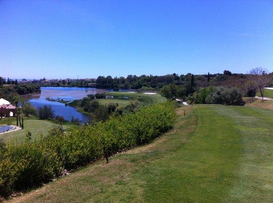 Villa Padierna Palace Hotel: View from 10th tee box