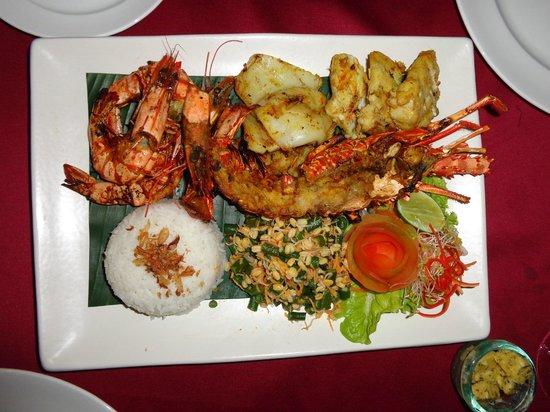 Kayumanis Ubud Private Villa & Spa: king lobster