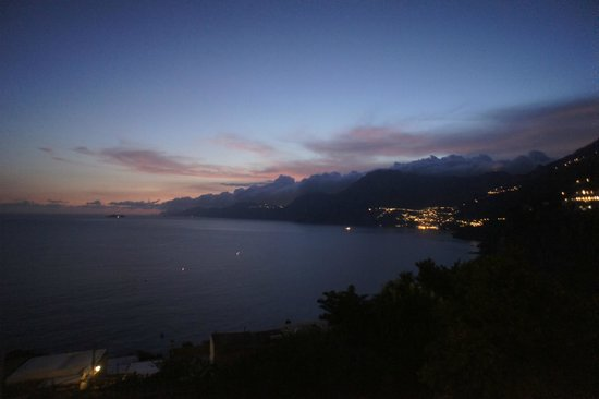 Hotel Tramonto d'Oro: View of Positano from our terrace