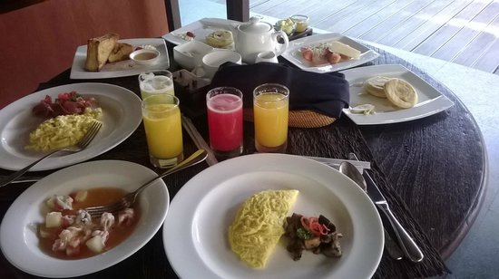 Kayumanis Ubud Private Villa & Spa : jumbo breakfast