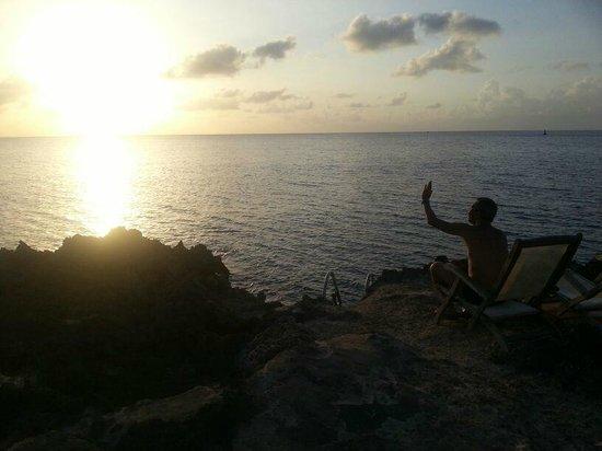 Playa Tranquilo: Por do SOL!