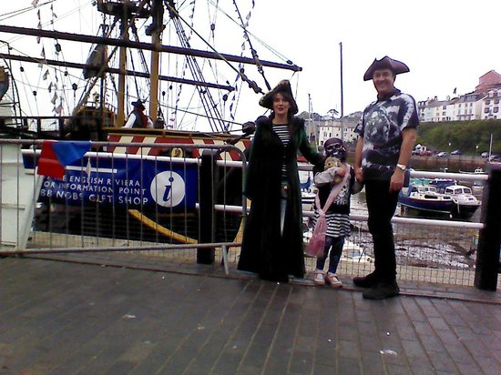Beverley Holidays: At Brixham Pirate Festival