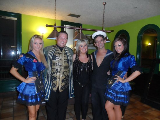 Showboat: Me  with Wayne, Ruby Rox & the gorgeous Dream girls