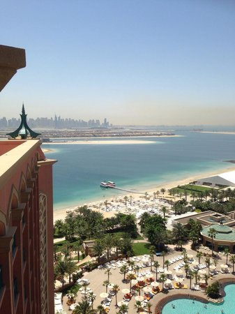 Atlantis, The Palm : View from window
