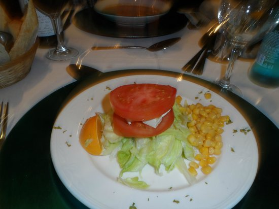 Levi's Showboat: My fab starter, which was lush along with the rest of the food .