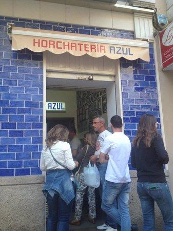 Horchateria Azul