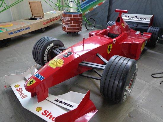 Sudha Cars Museum: F1 Ferrari