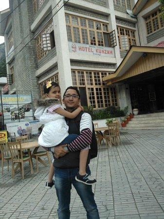 Kunzam Hotel: me with my princess