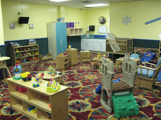 Kids Quest at Paragon Casino Resort: Tiny Tot Room