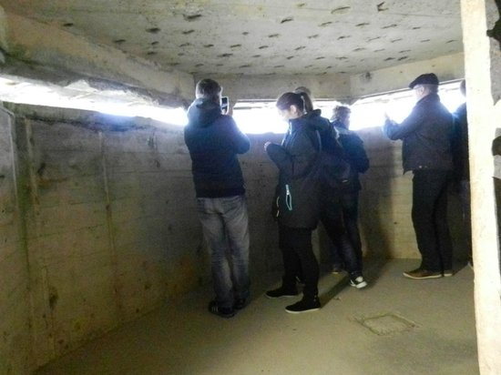 Inside Bunker View Of The Beach Picture Of Normandy D
