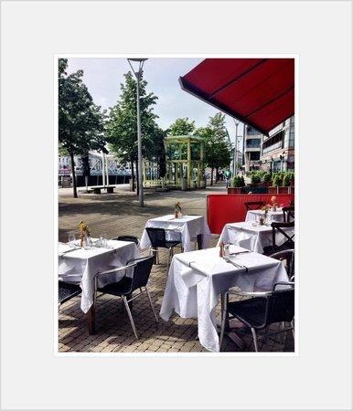 The Club Brasserie: club brasserie summer seating