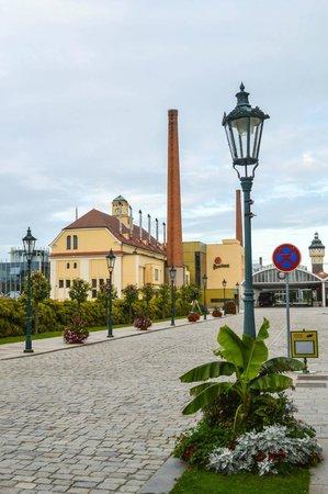 Pilsner Urquell Brewery: Area externa