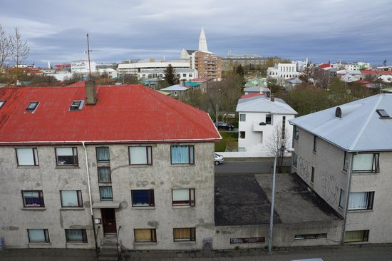 Fosshotel Raudara : Вид из окна
