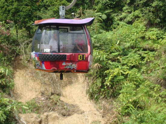 Genting Highlands, Malasia: Genting Skyway Cable Car