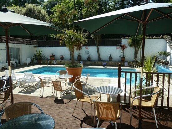 The Havelock: The outdoor heated swimming pool