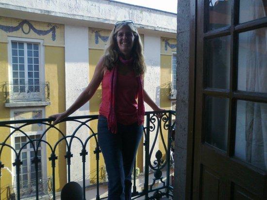 Hostal Centro Historico Regina: balcony