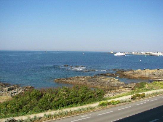 Hôtel La Petite Sirène : vue sur la baie de la chambre n°30