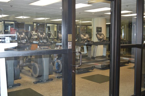 Chattanooga Marriott Downtown : Gym