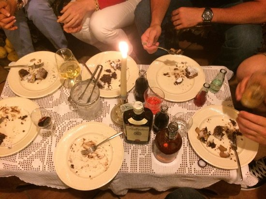 Il Rifugio : Empty plates were the norm for our family at this restaurant!