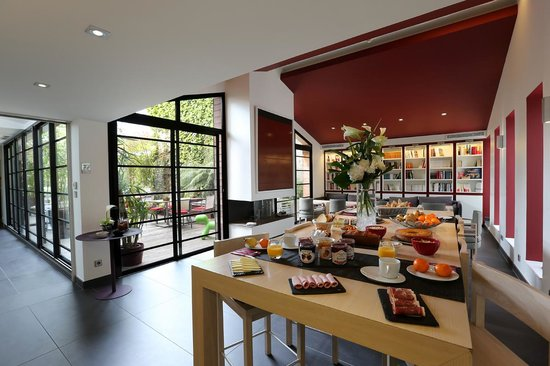 Hotel Villa Koegui Biarritz: Salon Petits Déjeuners