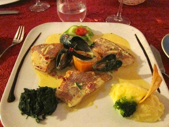 La Villa Restaurant: Entree