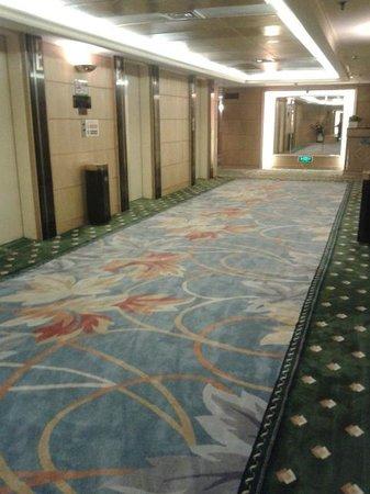 Century Plaza Hotel : Guest Room Floor Lobby