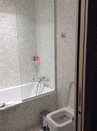 Hotel du Continent: bathroom