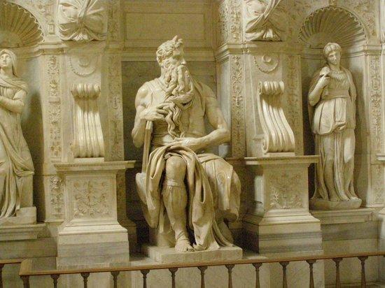 Saint-Pierre-aux-Liens (San Pietro in Vincoli) : Michelangelo's Moses