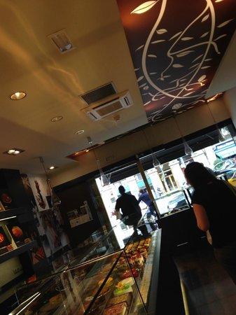 La pastisseria Barcelona: el local