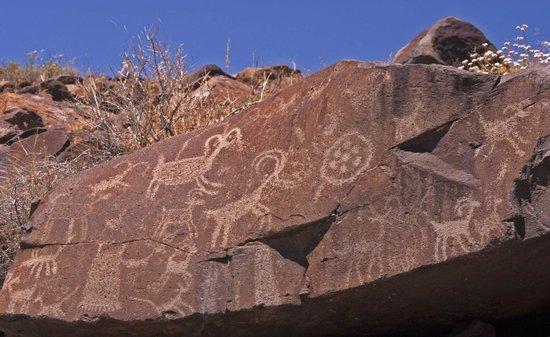 Best Western China Lake Inn: Little Petroglyph Canyon, nearby Ridgecrest
