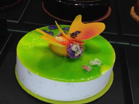 La pastisseria Barcelona: detalle tarta