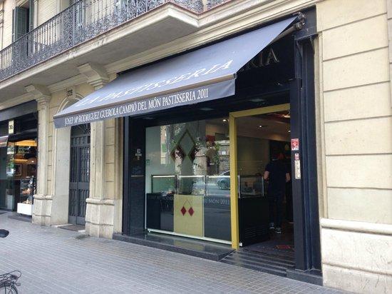 La Pastisseria Barcelona: fachada