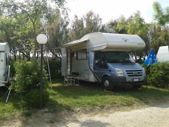 Camping Tripesce : piazzola