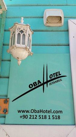 Oba Hotel: Entrada