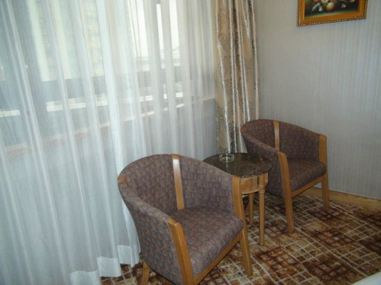 Century Plaza Hotel: Room 1 Seating