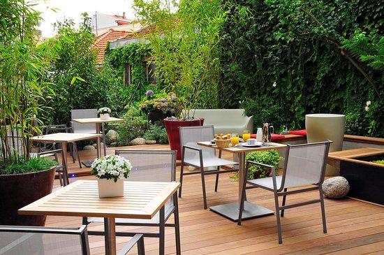 Hôtel Villa Koegui Biarritz : Patio