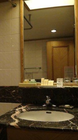 Century Plaza Hotel: Room 1 Bathroom