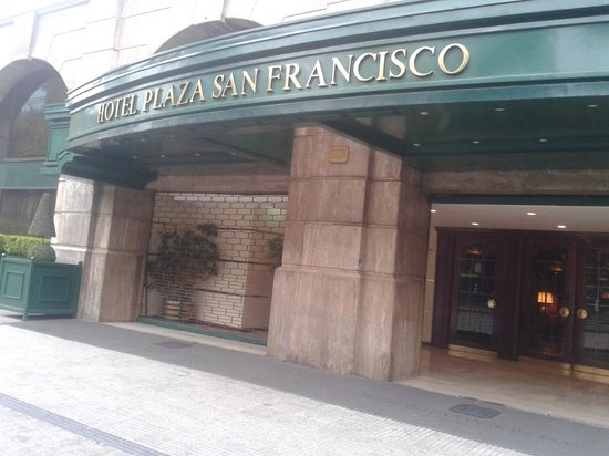 Hotel Plaza San Francisco: Frente do Hotel