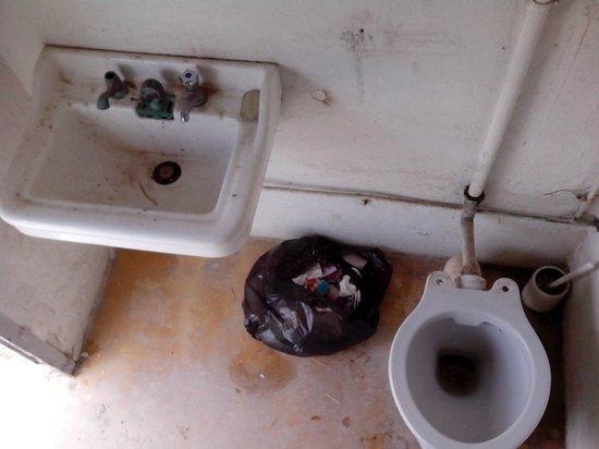 Cabanes de Cacharel: les toilettes clients