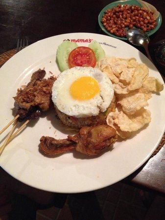 MAMA'S German Restaurant: Nasi Goreng Special mama's