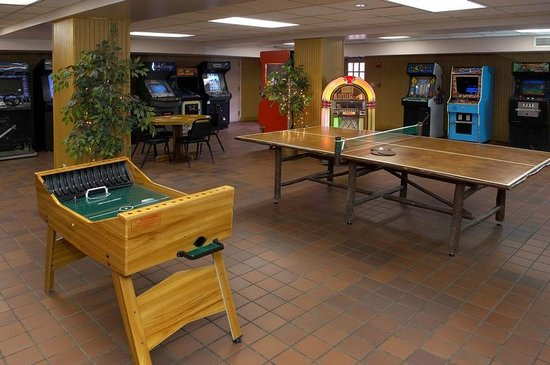 Turkey Run Inn: Inn Features A Large Game Room, Perfect For All Ages.