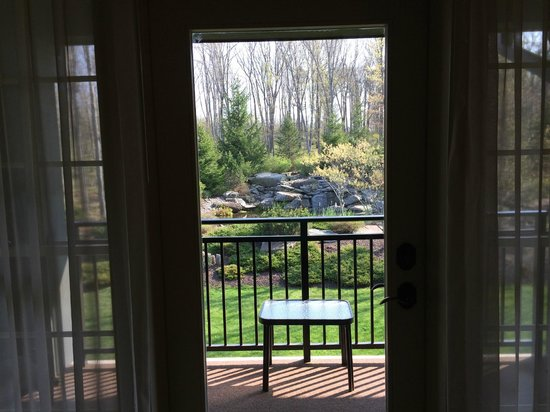 The Lodge at Woodloch : View from 3rd floor facing Portico side