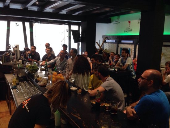 Madeinterranea Bar de Tapas: Ultima jornada de liga barça-atl madrid