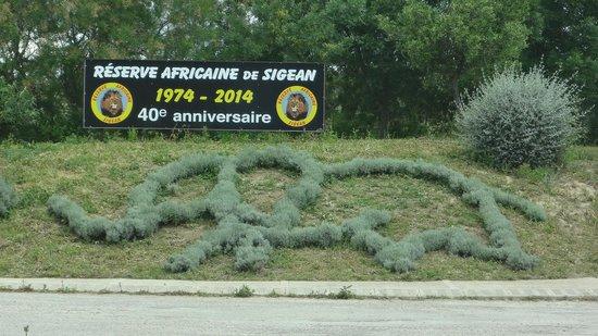 Reserve Africaine de Sigean : Вход