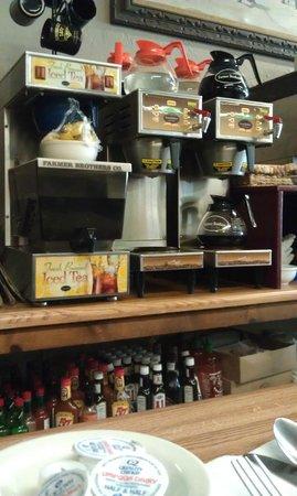 Powderhorn Cafe: Интерьер