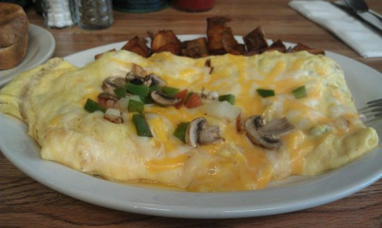 Powderhorn Cafe: Омлет