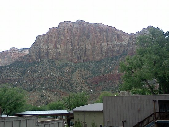 Historic Pioneer Lodge: View from room
