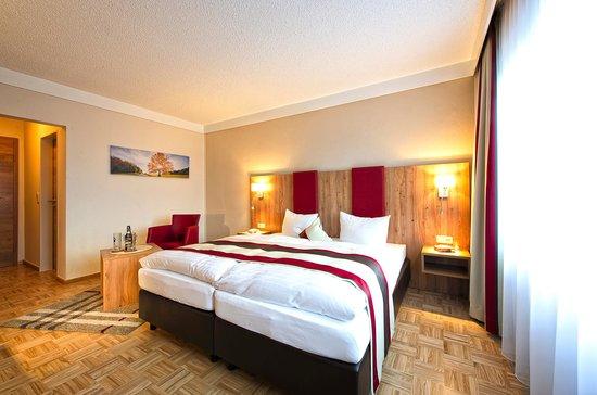 Zur Post Bayerischer Wald: Neu renoviertes Doppelzimmer