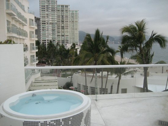 Hilton Puerto Vallarta Resort: view from our rooftop!