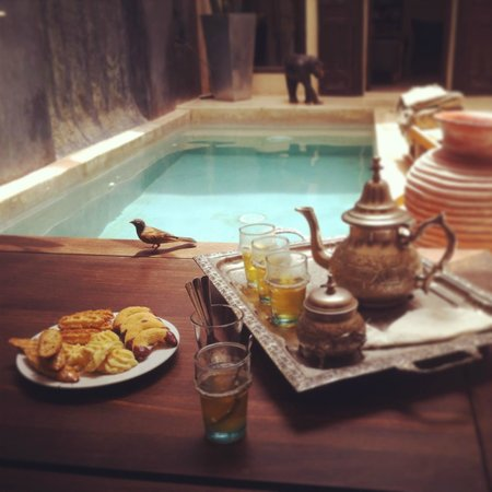 Riad Dar Massai: Welcome Tea